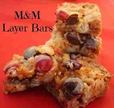 M&M Layer Bars