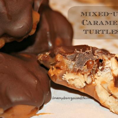 Mixed-Up Caramel Turtles