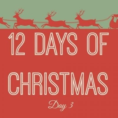 Twelve Days of Christmas Series #3