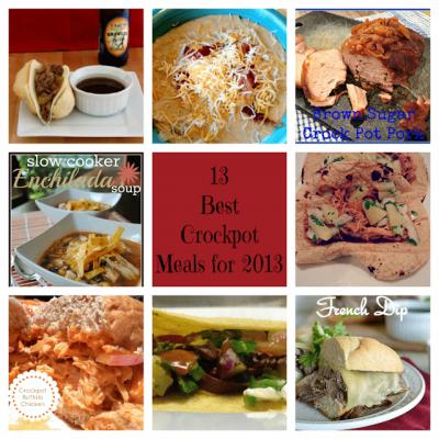 13 Best Crockpot Meals