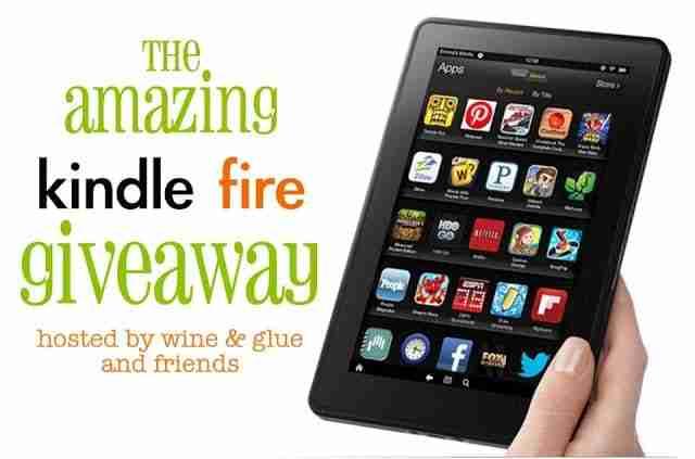 The Amazing Kindle Fire Giveaway/ {I Love} My Disorganized Life #kindlefire #amazon #giftcard