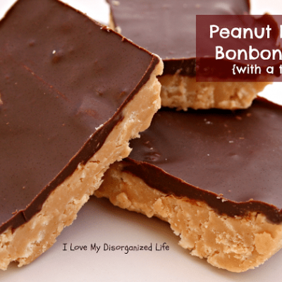 Peanut Butter Bonbon Bars {with a twist}