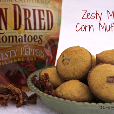 Zesty Mini Corn Muffins {and a giveaway!}