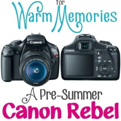 Cool Camera for Warm Memories Giveaway