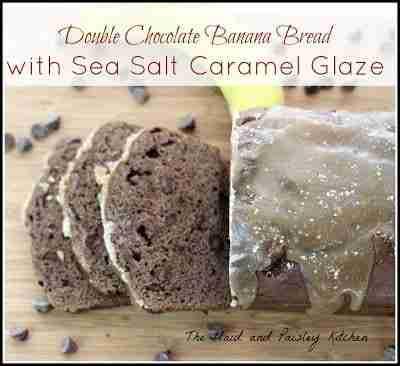 Double Chocolate Banana Bread / Plaid and Paisley Kitchen