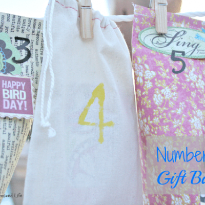 Numbered Gift Bags