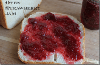 Oven Strawberry Jam / Life After Laundry