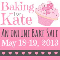 Baking for Kate: An Online Bake Sale