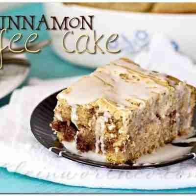 Old Fashioned Recipe Blog Swap: Cinnamon Coffee Cake