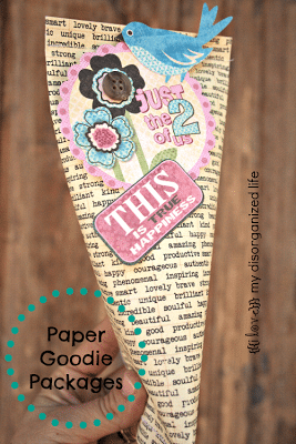Paper Goodie Bags/ {i love} my disorganized life
