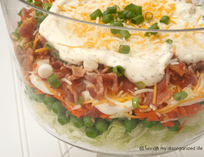 24-Hour Layered Veggie Salad