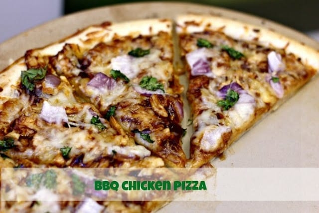 BBQ Chicken Pizza/ Confessions of a Cooking Diva