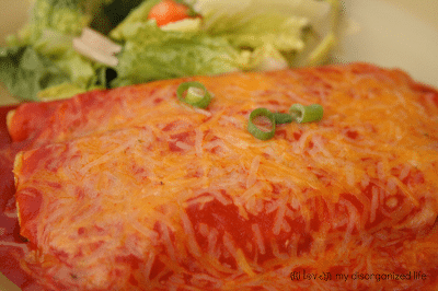 Easy Cheater Enchiladas