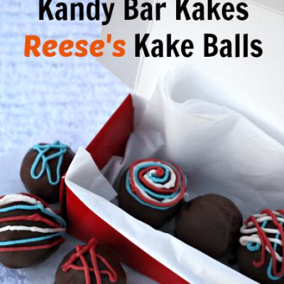 Tastykake® Kandy Bar Kakes Reese's Kake Balls