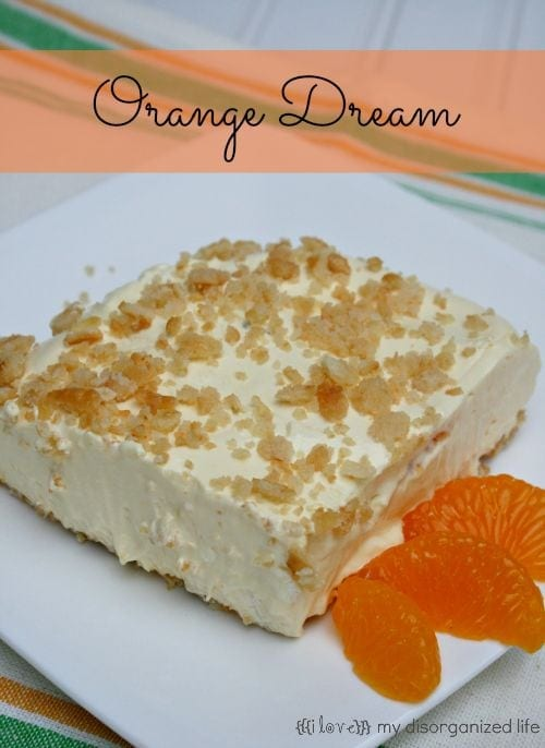 Orange Dream #orange #whippedtopping