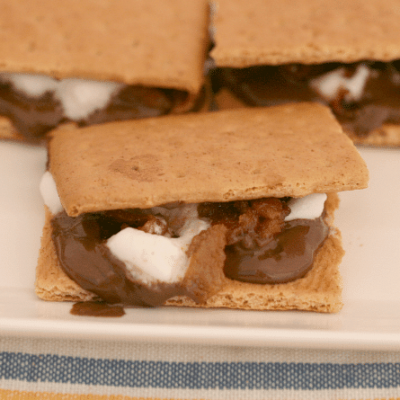Candied Bacon S'mores