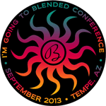 I'm going to Blended Conference in Tempe, Arizona in September 2013
