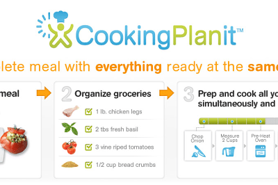 Cooking Planit Review and CookingPlanit T-fal Giveaway
