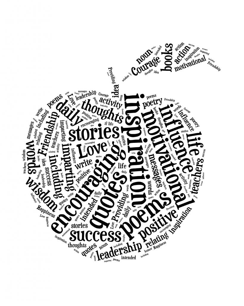 Teacher Art from {i love} my disorganized life #backtoschool #teacher #inspirational