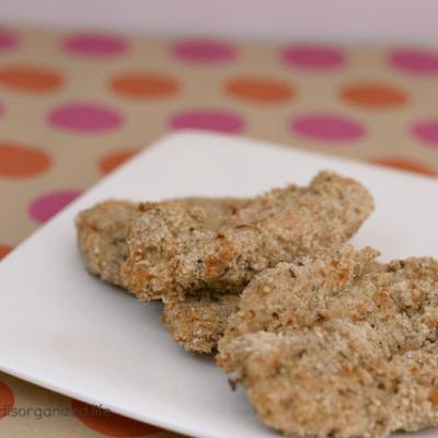 {Buttermilk} Oven Baked Chicken Strips