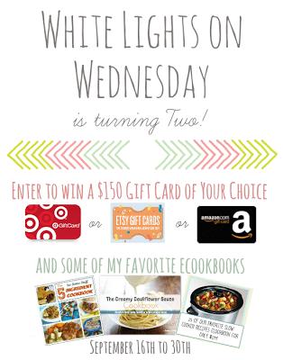 2nd Birthday Celebration for White Lights on Wednesday!