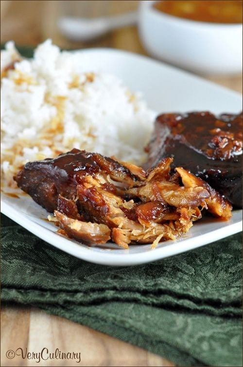 Slow Cooked Pork with Orange Marmalade - Very Culinary