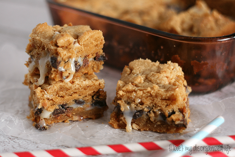 Peanut Butter Gooey Bars {i love} my disorganized life