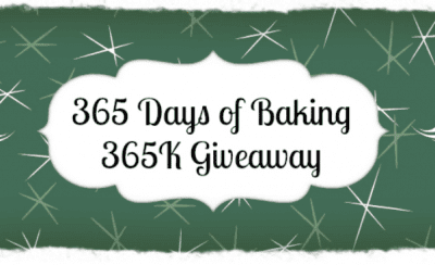 365 Days of Baking 365K Giveaway