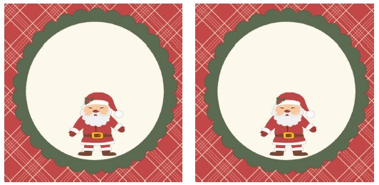 3x3 Square Gift Tags that can be filled in with whatever you want