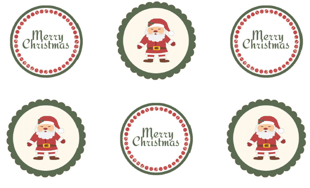 Christmas_Printable_cupcake_toppers_labels