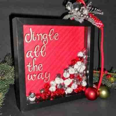 Jingle Bell Shadow Box