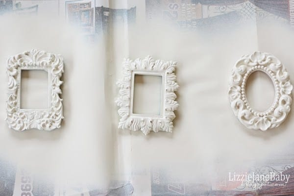 Picture Frame Christmas Tree Ornaments