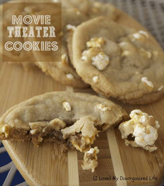 Movie Theater Cookies {i love} my disorganized life