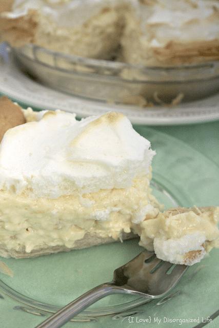 Pineapple Cream Pie- {i love} my disorganized life