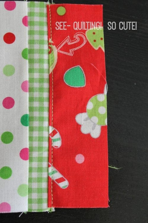 Quilting Your Stocking