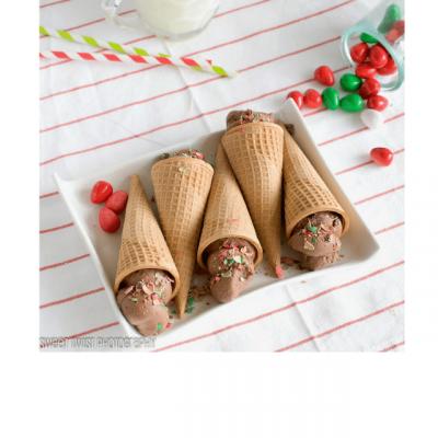 Chocolate Mint Cone-olis