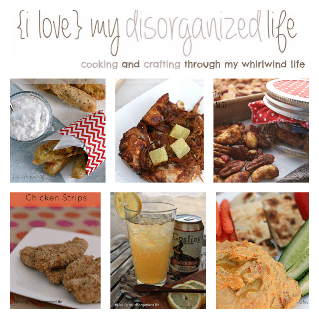 Football Fare - {i love} my disorganized life