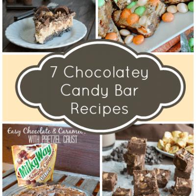 7 Chocolatey Candy Bar Recipes
