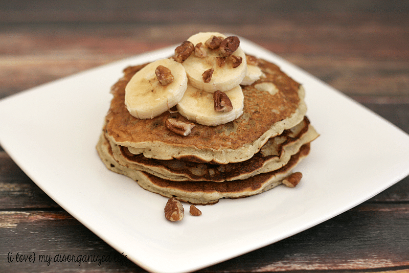 Banana Pancakes- banana in the batter is the secret to these sweet pancakes