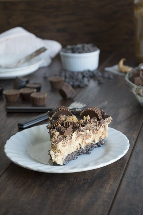 Peanut-Butter-Cup-Chocolate-Pie