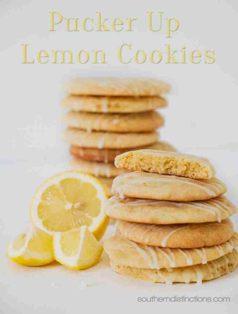 Lemon Cookies-Southern Distinctions