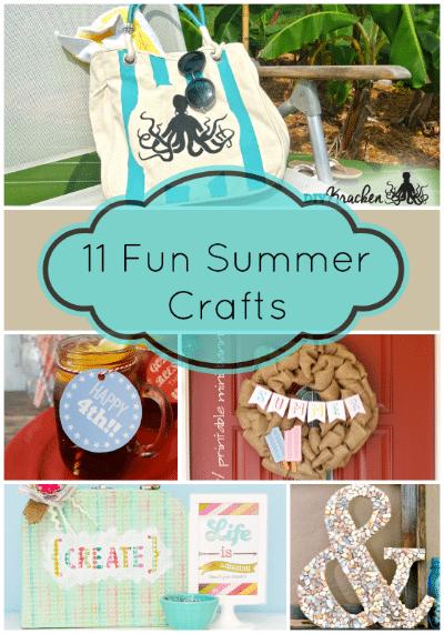 11 Fun Summer Crafts I Love My Disorganized Life
