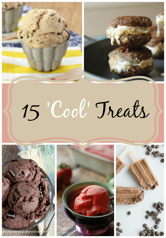 15 'Cool' Treats- Ready to cool off Try one of these 15 amazing frozen treats- chocolate, banana, watermelon- YUM!