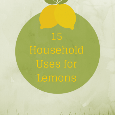 15 Household Uses for Lemons
