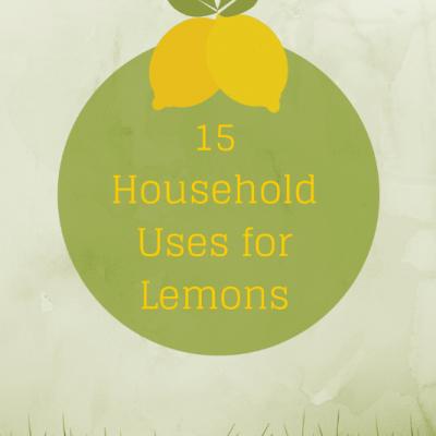 15 Household Uses for Lemons