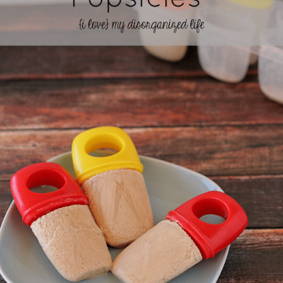 Chai Tea Latte Popsicles