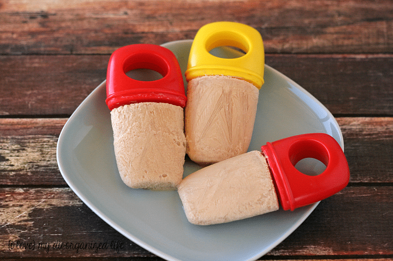 Chai Tea Latte Popsicles #chaitealatte #frozen