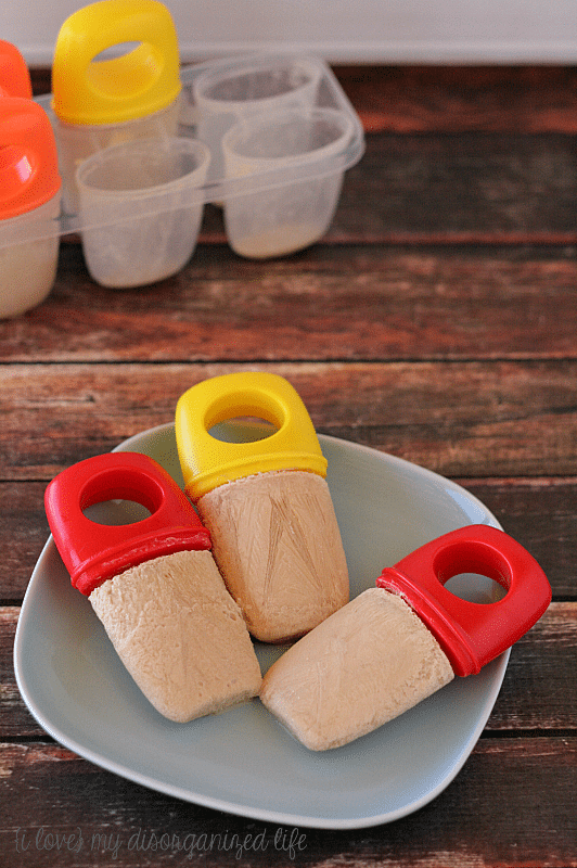 Chai Tea Latte Popsicles - so cool and refreshing and made with real cream. The perfect way to cool off on a hot summer day!