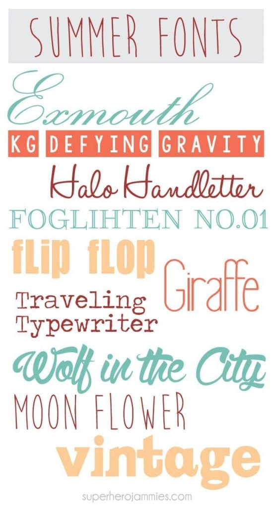 Favorite-Summer-Fonts