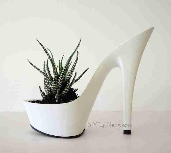 DIY High Heel Planter